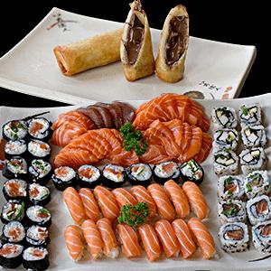 Combo de Japonês 7 | Delivery de Japonês Sushi Rão