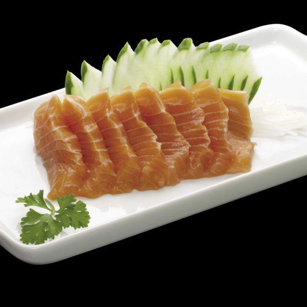 Sashimi de Salmão | Sushi Rão, Restaurante Japonês