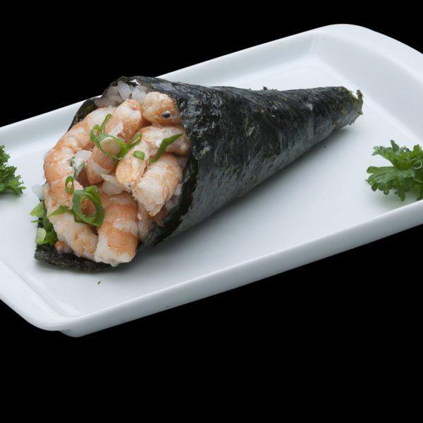 Temaki de Camarão | Sushi Rão, Restaurante Japonês