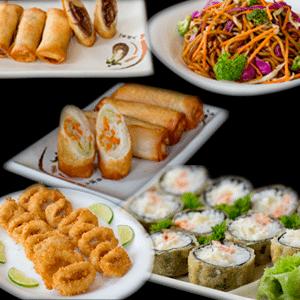 Combo Quente de Japonês | Delivery de Japonês Sushi Rão