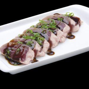 Sashismi Toast Atum | Sushi Rão, Comida Japonesa.