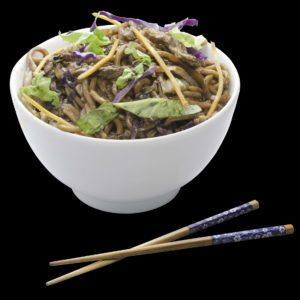 Yakisoba de Carne | Sushi Rão, Restaurante Japonês