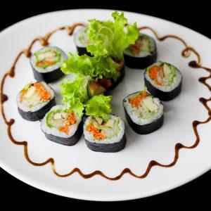 Roll Vegetariano | Sushi Rão, Comida Japonesa.