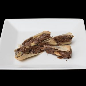 Harumaki Banana Com Chocolate | Sushi Rão, Comida Japonesa.