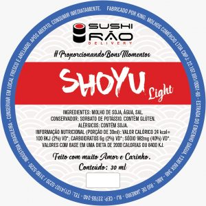 Shoyu Light - Sushi Rão, o Maior Delivery de Sushi do Rio e do Brasil