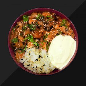 Poke de Salmão - Delivery Sushi Rão