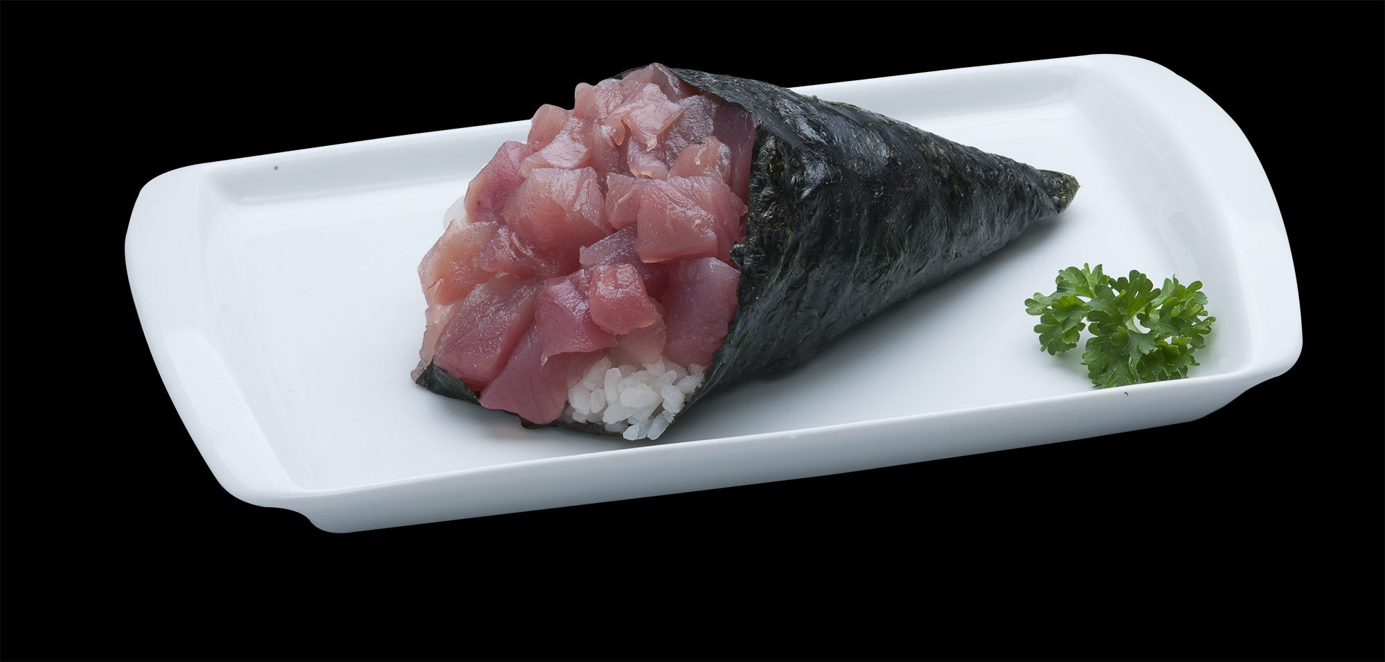 Temaki de Atum | Sushi Rão, Restaurante Japonês