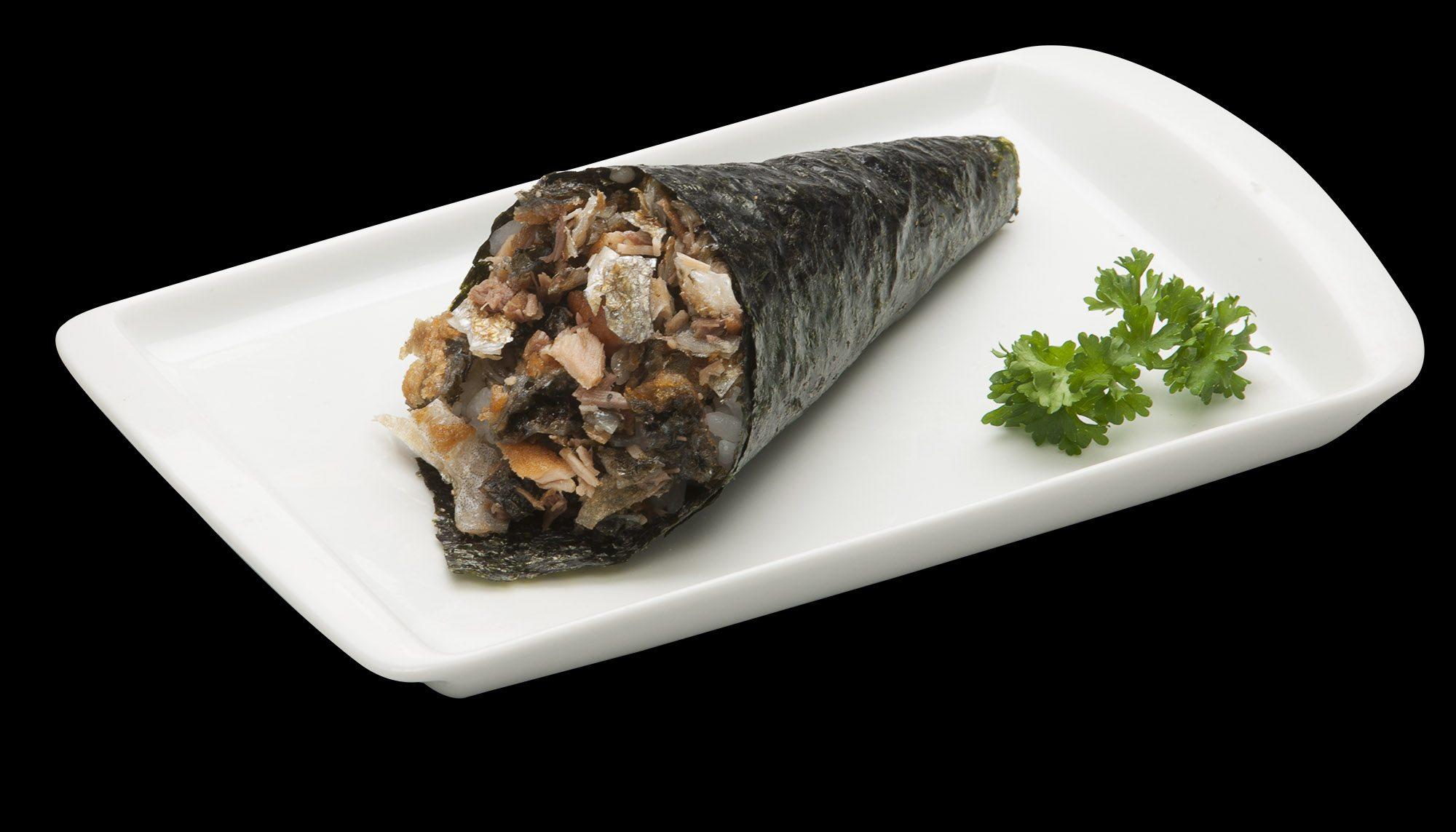 Temaki Salmão Skin | Sushi Rão, Restaurante Japonês