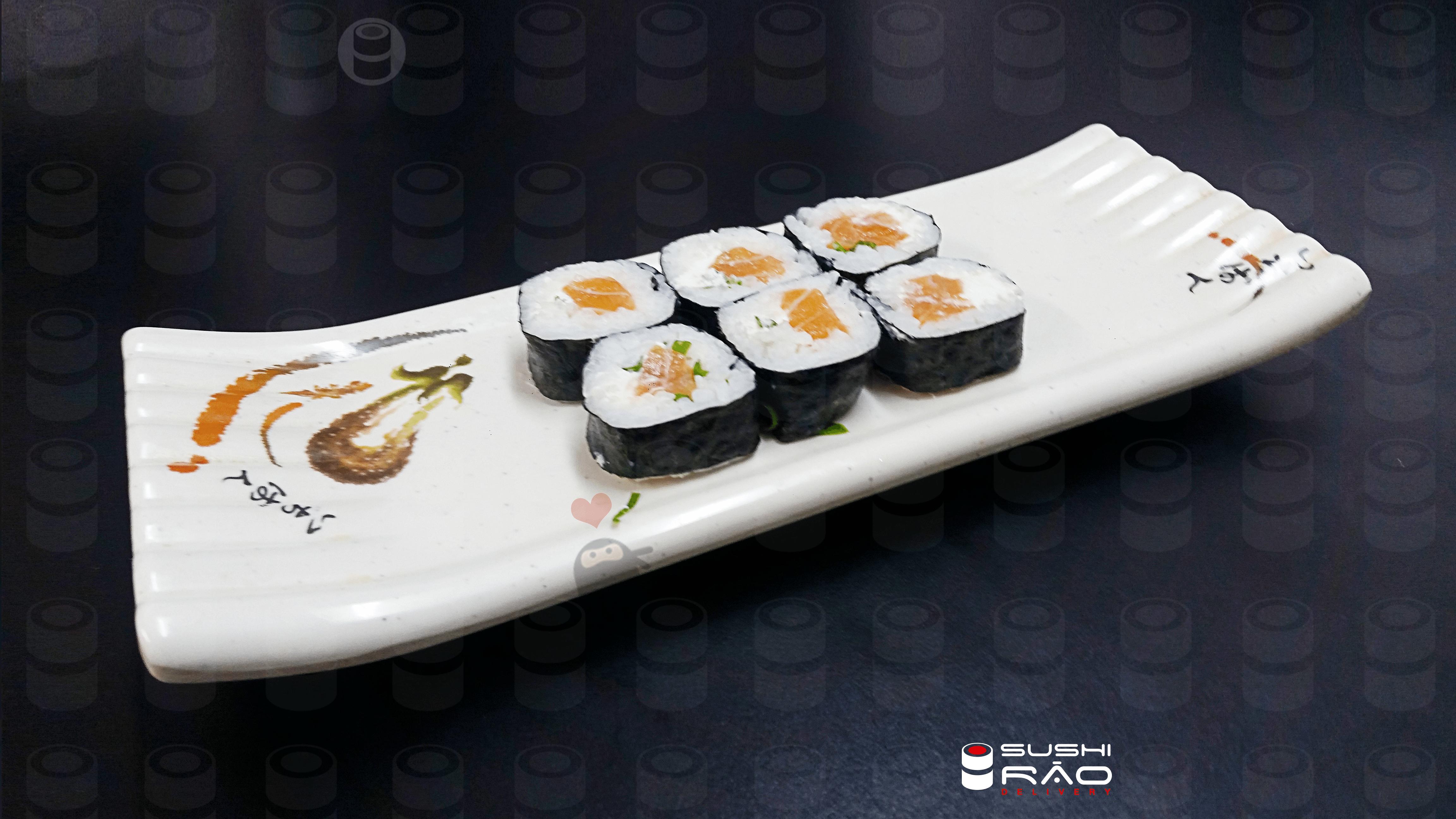 Philadelphia Roll   Delivery de Comida Japonesa Sushi Rão