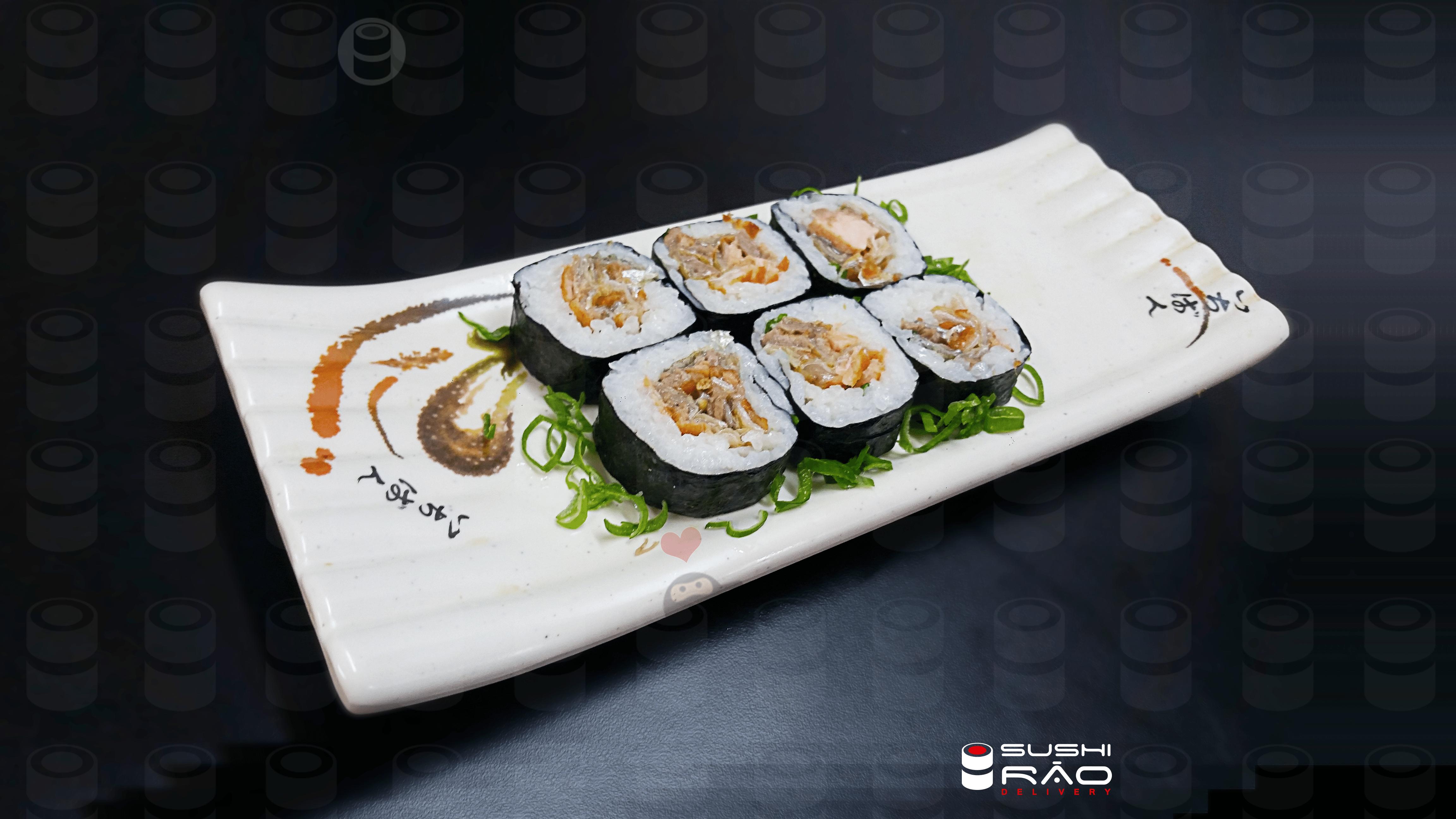Skin Roll   Delivery de Comida Japonesa Sushi Rão