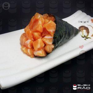 Temaki Salmão Sem Arroz | Delivery de Comida Japonesa Sushi Rão