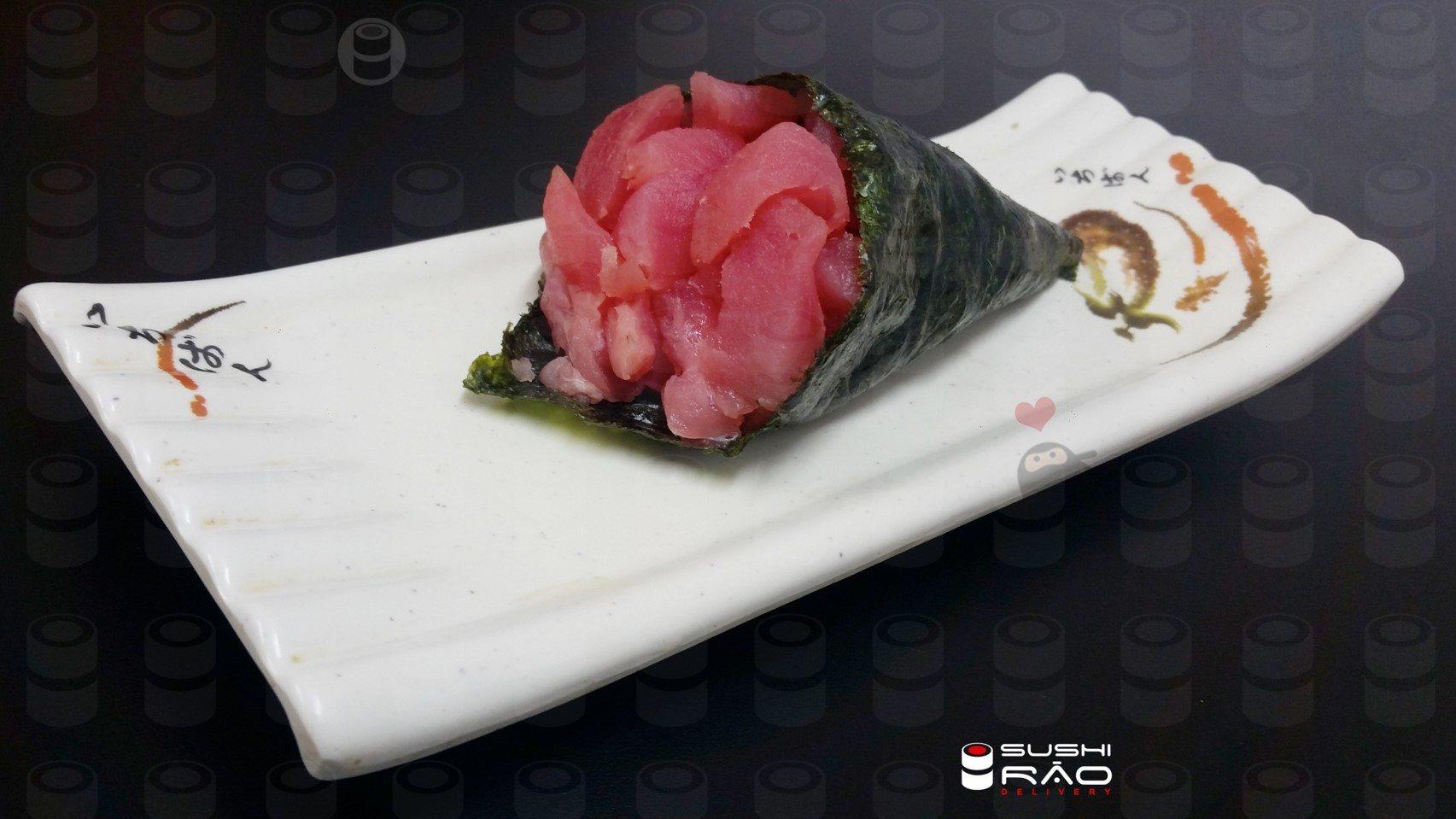Temaki Atum Sem Arroz | Delivery de Comida Japonesa Sushi Rão