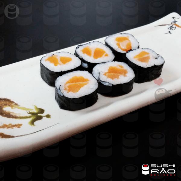 Salmão Makki   Delivery de Comida Japonesa Sushi Rão