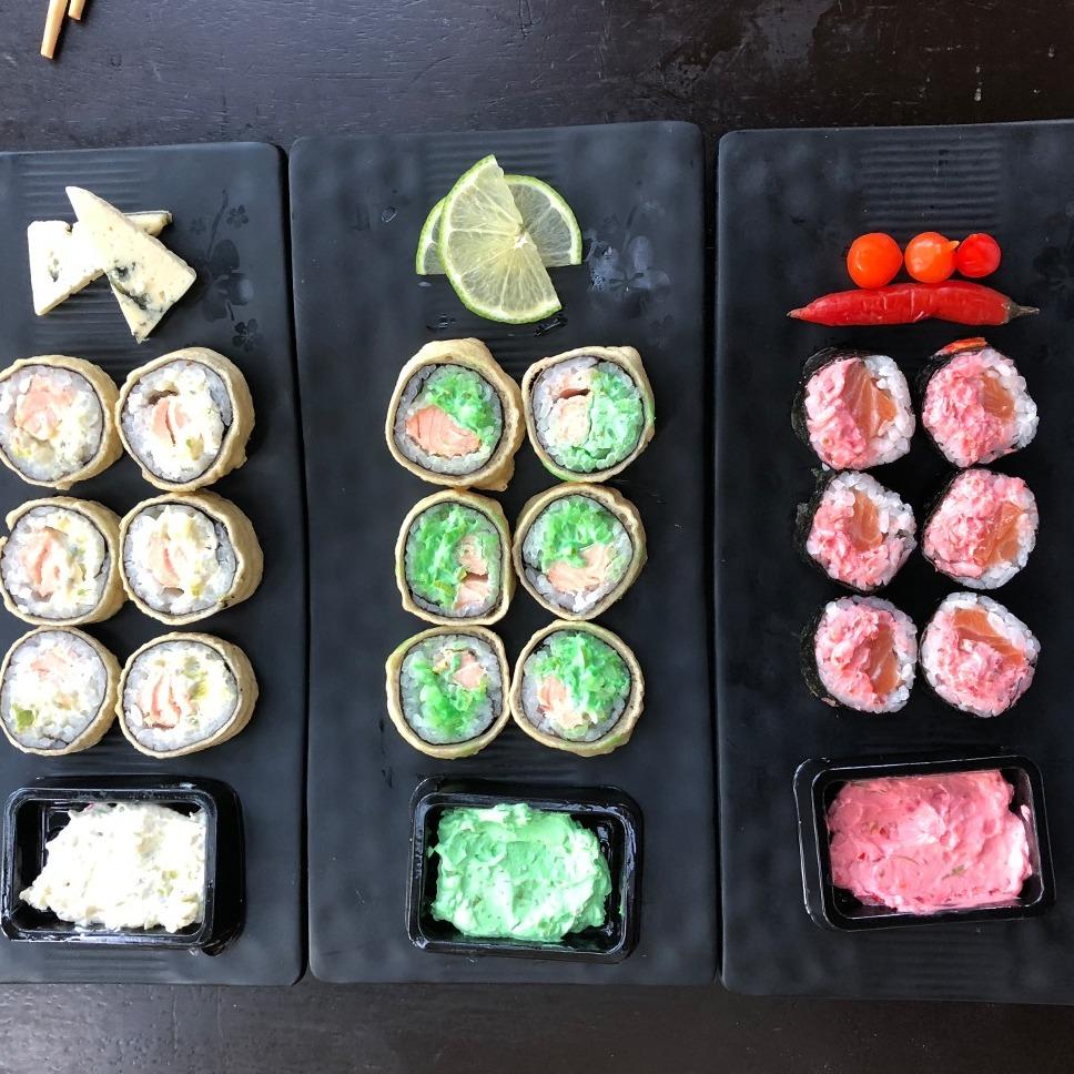 Rolls Mix de Hot Special - Sushi Rão, o Maior Delivery de Sushi do Rio e do Brasil