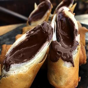 Harumaki de Nutella - Sushi Rão, o Maior Delivery de Sushi do Brasil