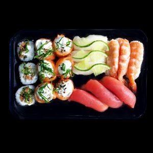 Box Fusão - Sushi Rão, o Maior Delivery de Sushi do Brasil