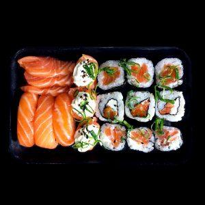 Box Salmão - Sushi Rão, o Maior Delivery de Sushi do Brasil
