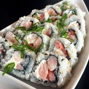 Uramaki de Camarão - Sushi Rão, o Maior Delivery de Sushi do Rio e do Brasil