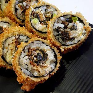 Hot Salmão Skin Crocante - Sushi Rão, o Maior Delivery de Sushi do Rio e do Brasil